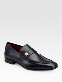 Salvatore Ferragamo - Tribune Leather Loafers