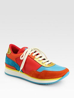 Salvatore Ferragamo - Multicolored Tower Sneakers