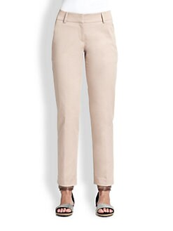 Brunello Cucinelli - Stretch Cotton Pants
