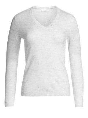 Cashmere Elbow-Patch Sweater plus size,  plus size fashion plus size appare