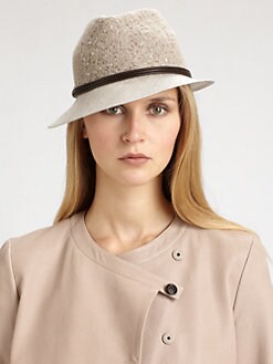Brunello Cucinelli - Embroidered Straw Hat