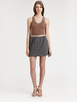 Brunello Cucinelli - Monilli-Tasseled Ribbed Tank Top