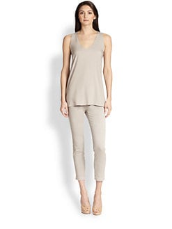Brunello Cucinelli - Reversible Silk Tank