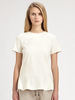 Brunello Cucinelli - Peplum Top