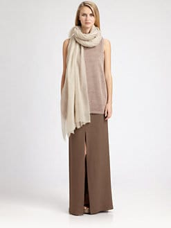 Brunello Cucinelli - Sleeveless Lurex Top