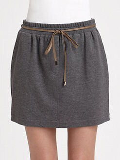 Brunello Cucinelli - Jersey Mini Skirt