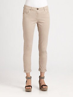 Brunello Cucinelli - Cotton Pants