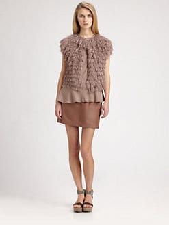 Brunello Cucinelli - Fringe Vest