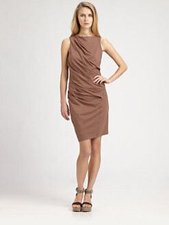 Brunello Cucinelli - Ruched Dress