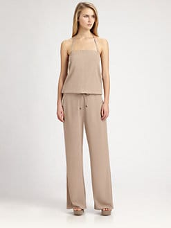 Brunello Cucinelli - Silk Jumpsuit