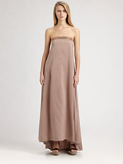 Brunello Cucinelli - Strapless Maxi Dress