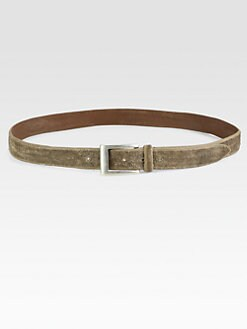 Brunello Cucinelli - Textured Leather Belt
