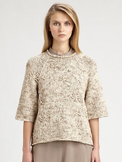 Brunello Cucinelli - Embroidered Pullover