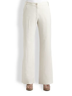 Brunello Cucinelli - Wide-Leg Linen Pants