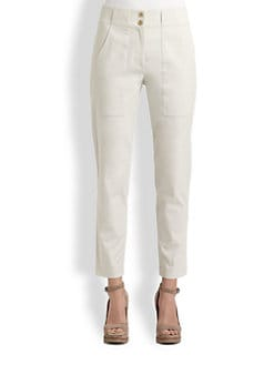 Brunello Cucinelli - Stretch Cotton Cargo Pants