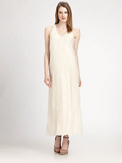 Brunello Cucinelli - Cotton/Silk Maxi Dress