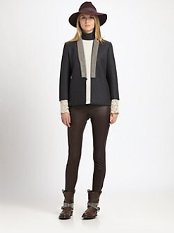 Brunello Cucinelli - Neoprene Evening Jacket