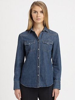 Brunello Cucinelli - Denim Shirt