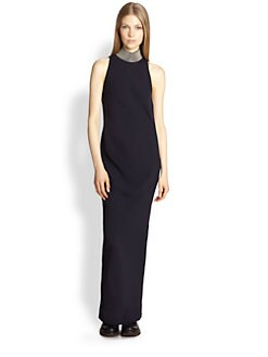 Brunello Cucinelli - Silk Monili Neck Gown