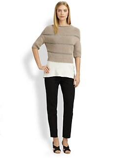 Brunello Cucinelli - Raffia Sweater