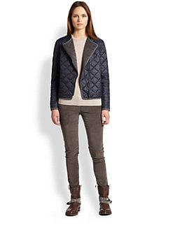 Brunello Cucinelli - Quilted Nylon Jacket