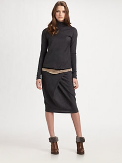 Brunello Cucinelli - Wool Dress
