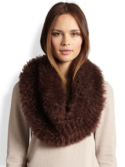 Brunello Cucinelli - Cashmere/Leather Snood