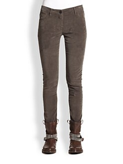 Brunello Cucinelli - Mini Corduroy Pants