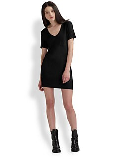 T by Alexander Wang - V-Neck Dress