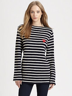 Comme des Garcons Play - Boyfriend Sweater