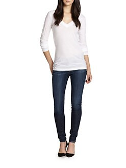 LNA - Long-Sleeve V-Neck Tee