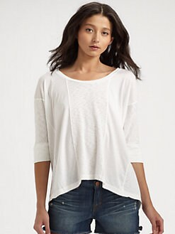 Splendid - Oversized Cotton Tee