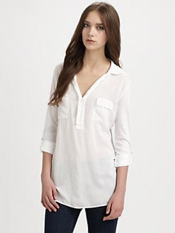 Splendid - Two-Pocket Jersey Shirt