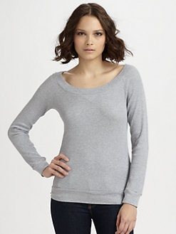 Splendid - Thermal Boatneck Sweater