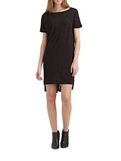 T by Alexander Wang - Classic Boatneck Dress
