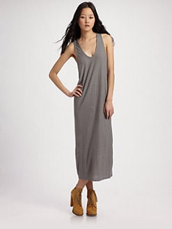 T by Alexander Wang - Silk/Rayon Tank Dress