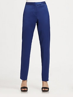 T by Alexander Wang - Silk-Rich Skinny-Leg Pants