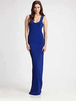 T by Alexander Wang - Scoopneck Maxi Dress