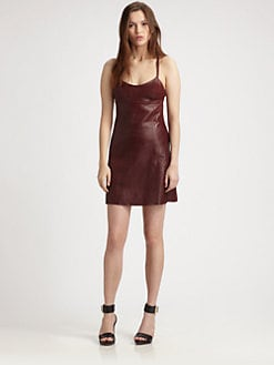 T by Alexander Wang - Leather Dress