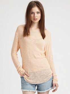 Generation Love - Alina Distressed Slub Sweater
