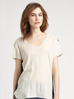 Wilt - Colorblock Supima Cotton Boyfriend Tee