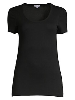 Splendid - Short-Sleeve Scoopneck Tee