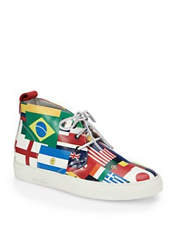 Del Toro - World Cup Leather Chukka Sneakers