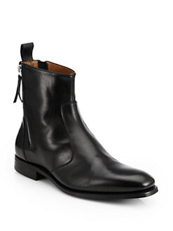 Givenchy - Leather Tuxedo Boots