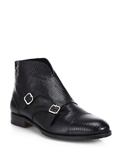 DSQUARED - Double Buckle Ankle Boots