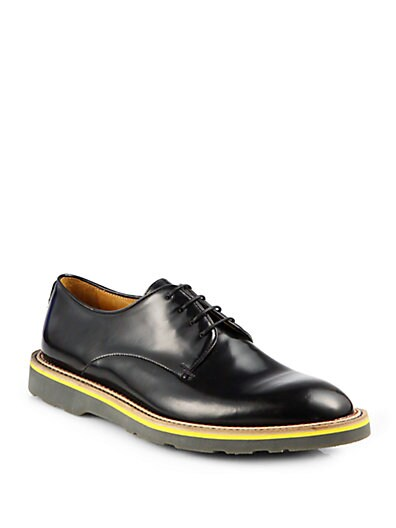 Bailey Leather Lace-Up Dress Shoes