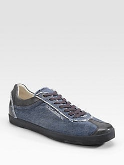 Dolce & Gabbana - Denim Sneakers