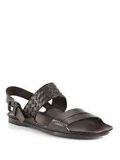 Bottega Veneta - Intrecciato Leather Sandals