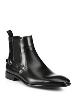 Boss Hugo Boss - Mexis Leather Chelsea Boots
