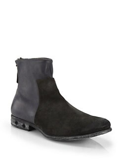 Diesel Boa Vista Suede & Leather Boots